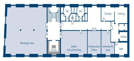 Raumplan Zehntscheune